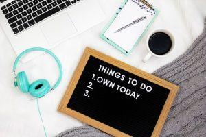to do list - productivity
